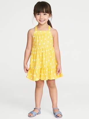 Old Navy Tiered Slub-Knit Sundress for Toddler Girls