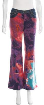 Just Cavalli Mid-Rise Flared Jeans w/ Tags