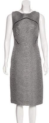 Antonio Berardi Jacquard Sleeveless Dress