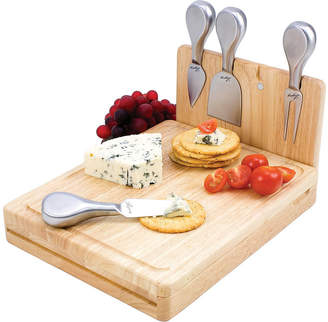 Picnic Time Asiago Folding Cheeseboard with Tools