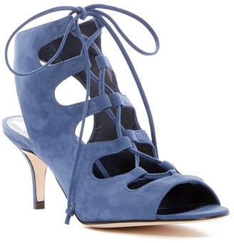 Delman Tanna Lace-Up Sandal $448 thestylecure.com