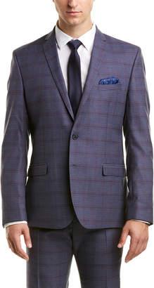 Nick Graham 2Pc Slim Fit Suit With Flat Pant