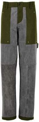Beau Souci Guard-D Panelled Straight-leg Jeans