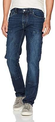 GUESS Men's Slim Straight Carpenter Jean