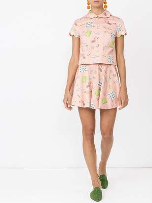 Olympia Le-Tan Olympia Le Tan The webster x lane crawford 'rosa' skirt