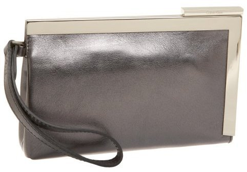 Calvin Klein Metallic Small Lux Clutch