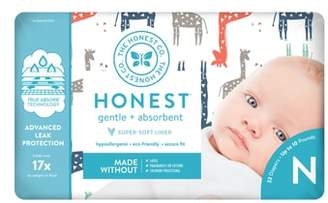 The Honest Company Giraffe Diapers