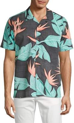 Hurley Hanoi Button-Down Shirt
