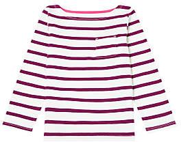 John Lewis & Partners Girls' Breton Stripe Top