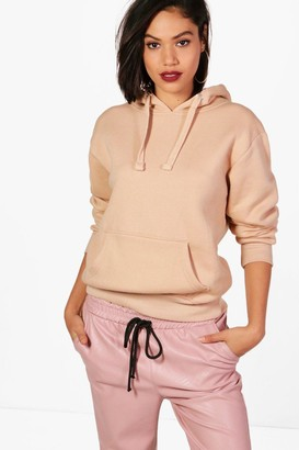 boohoo Basic Solid Oversized Hoody