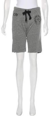 Chrome Hearts Logo Jogger Shorts Grey Logo Jogger Shorts