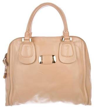 Jimmy Choo Large Leather Handle Bag