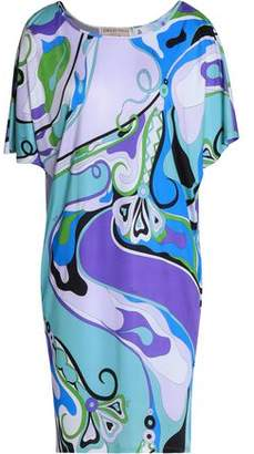 Emilio Pucci Printed Jersey Mini Dress