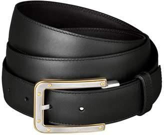 Cartier Santos de Leather Belt