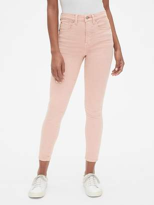 Gap High Rise True Skinny Ankle Jeans in Color