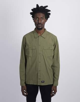 Edwin Corporal Shirt Military Green