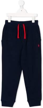 Ralph Lauren logo-embroidered track pants