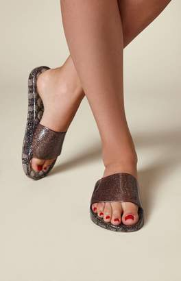 Kirra Glitter Jelly Slide Sandals