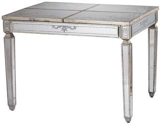 A&B Home Violet Mirrored Table