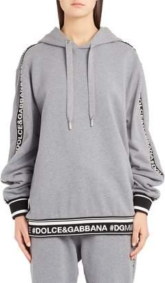 Dolce & Gabbana Logo Tape Sweatshirt