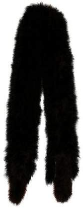 Sonia Rykiel Knitted Feather Scarf