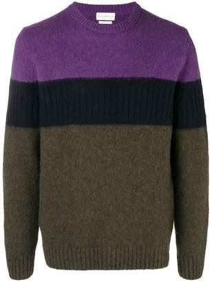 Ballantyne colour block sweater