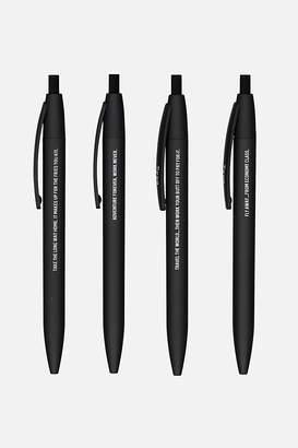 Cotton On Soft Touch Pen 4Pk
