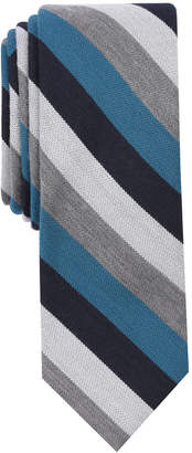 Bar III Men's Dupont Stripe Skinny Tie, Created for Macy's