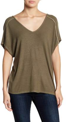Michael Stars Back Lace-Up Tee