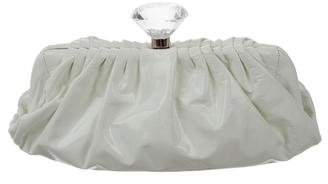 Chanel Diamond Clutch