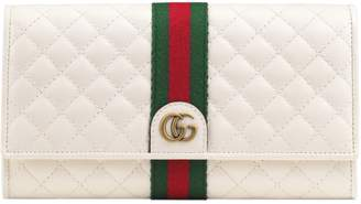Gucci Quilted Leather Continental Wallet