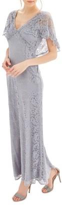 Women's Topshop Bride Caped Gown $240 thestylecure.com