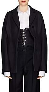 Jil Sander Women's Garibaldi Wool Gabardine Jacket - Navy