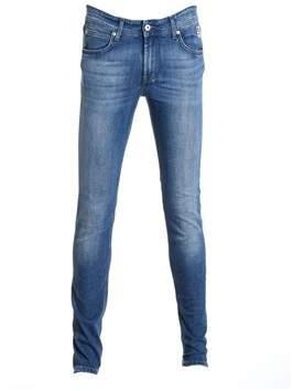 Roy Roger's Men's Blue Cotton Jeans.