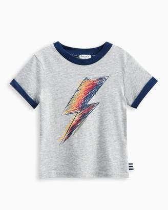 Splendid Baby Boy Lightning Bolt Screen Tee