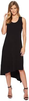 Mod-o-doc Cotton Modal Spandex Jersey Double Layer High Side Slit Tank Dress Women's Dress