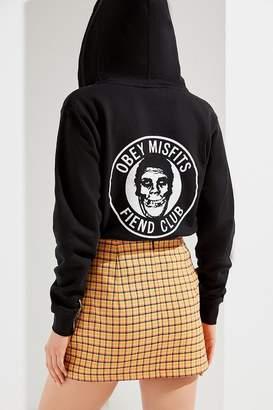 Obey Misfits Zipper Hoodie Sweatshirt