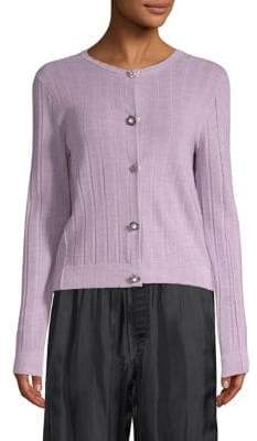 Marc Jacobs Long-Sleeve Button Front Cardigan