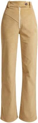 Awake Straight-leg cotton-corduroy trousers