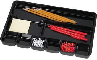 Sparco, SPR60006, Nine-Compartment Drawer Organizer, 1 Each, Black