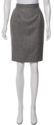 Christian Lacroix Structured Pencil Skirt