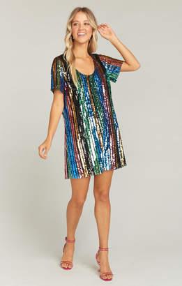 Show Me Your Mumu Katie Dress ~ Cocktail Stripe Sequins