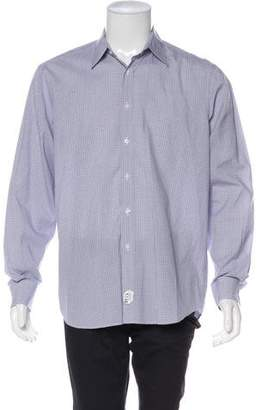 Ralph Lauren Purple Label Patterned Dress Shirt