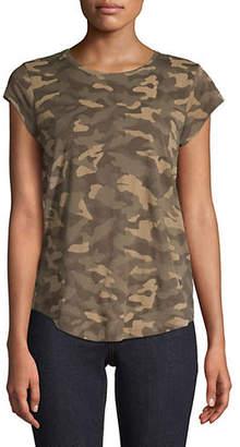 Joie Camouflage Cotton Tee
