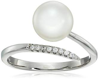 Bella Pearl Sterling Silver Freshwater Ring
