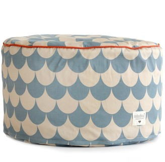 NOBODINOZ Tombouctou pouf with scales $82.80 thestylecure.com