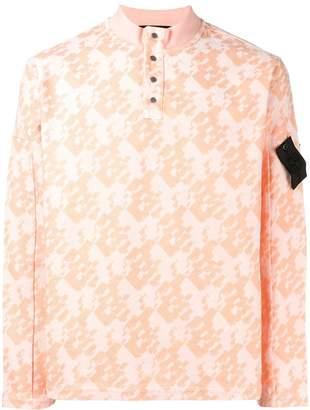 Stone Island Shadow Project half-button sweatshirt