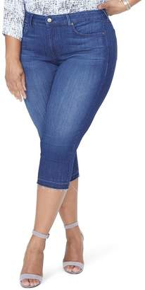 NYDJ Release Hem Capri Skinny Jeans (Lark) (Plus Size)