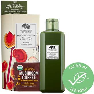 Origins Mega-Mushroom Relief & Resilience Soothing Treatment Lotion Limited Edition