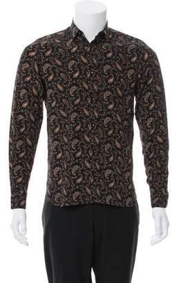 Saint Laurent 2016 Silk Shirt